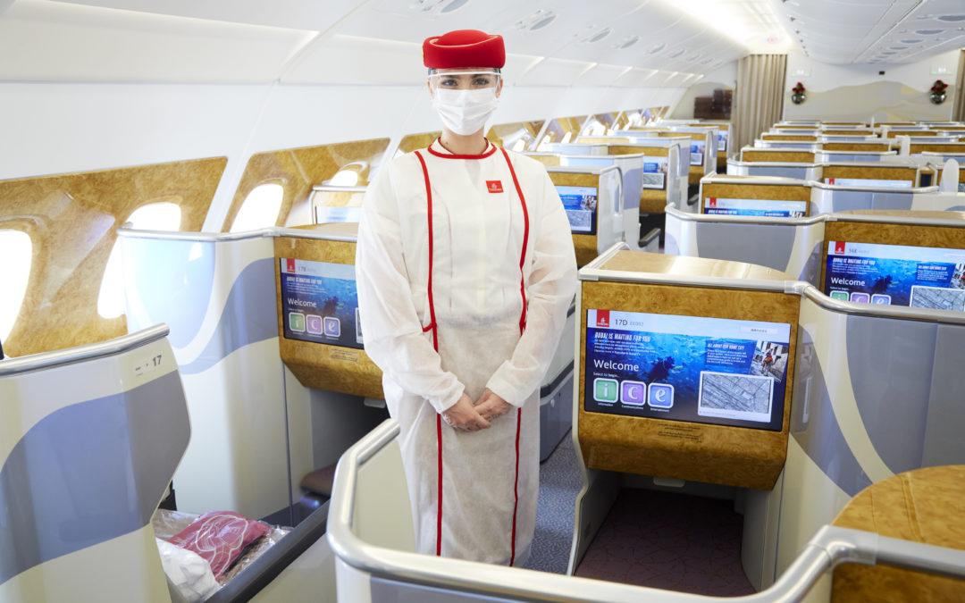 Emirates de volta no céu brasileiro
